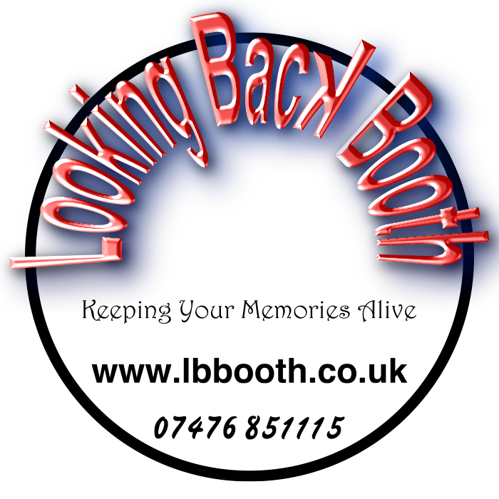 Looking Back Booth Logo